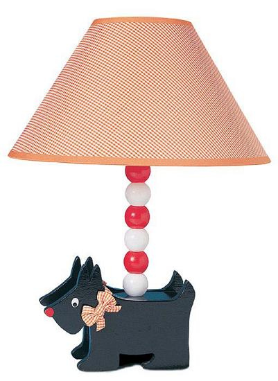 Scottish Terrier Dog Lamp