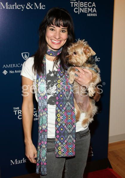 Alison Becker and her Yorkie