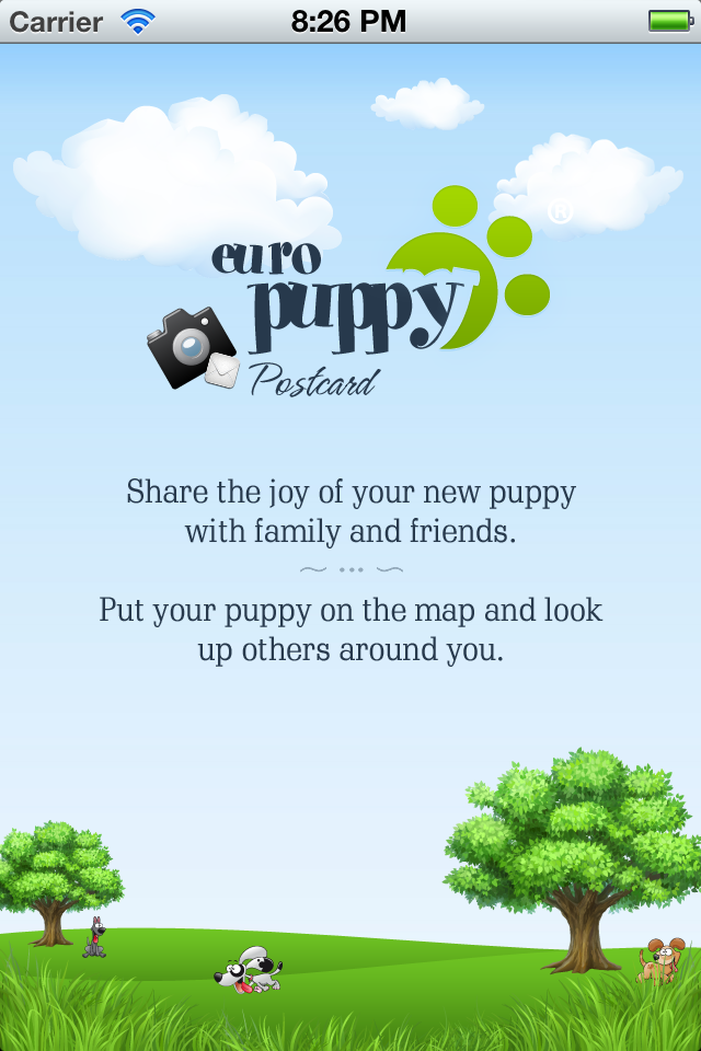Puppy Cards app